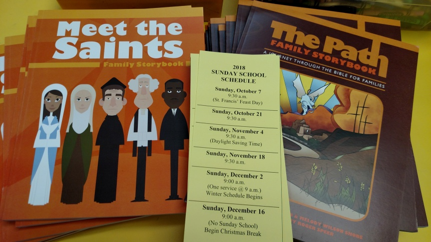 Meet the Saints - Children and Life Tab